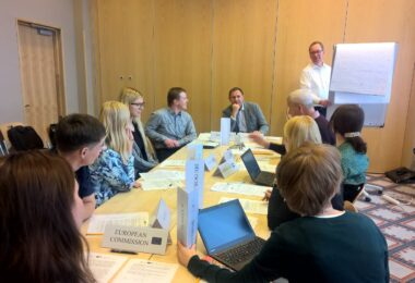 ESD TRAINS ESTONIAN OFFICIALS FOR THE EU PRESIDENCY IN 2017