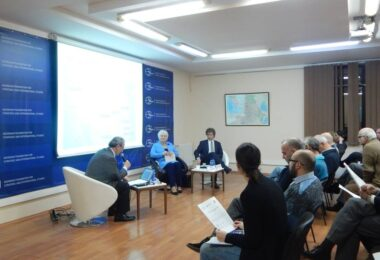 FORMER FOREIGN MINISTER KALJURAND LECTURES IN GEORGIA