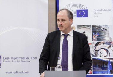 PUBLIC LECTURE OF SECRETARY GENERAL OF THE EUROPEAN PARLIAMENT Mr KLAUS WELLE
