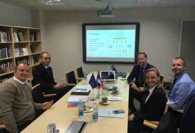 Estonian School of Diplomacy delivers a five-day training on International Relations and E-Governance to Belarusian Diplomats
