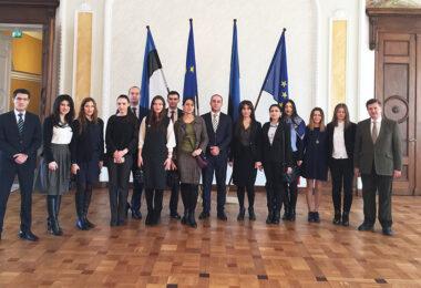 23-27. oktoobril külastas Eesti Diplomaatide Kooli 15-liikmeline armeenia delegatsioon