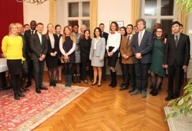 ESD's Diploma Students visited the French Ambassador's Residence in Tallinn