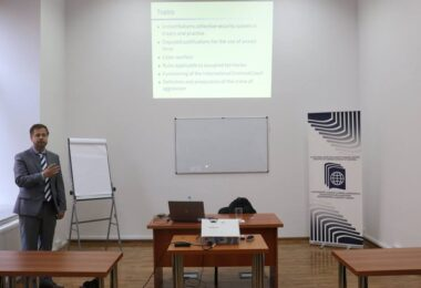 "Seminar on ""Aggressive State Behaviour and International Law"" in Tbilisi, Georgia"