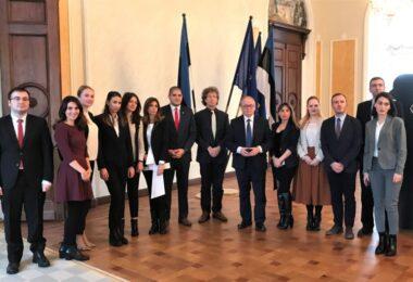 Gruusia diplomaatide õppereis Tallinnasse