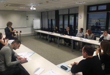 An International Relations, and E-Governance Training organised in Tallinn by the ESD for the new recruits of the Georgian Ministry of Foreign Affairs