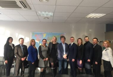 Ukrainian Civil Servants Complete Study Visit to Tallinn (February 26-March 2, 2018)