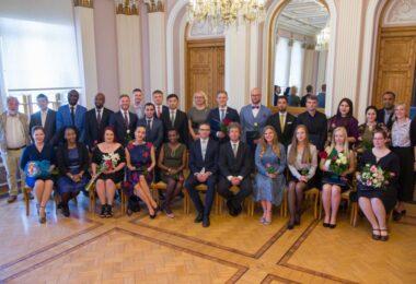 Class 2017/2018 graduated from the Estonian School of Diplomacy
