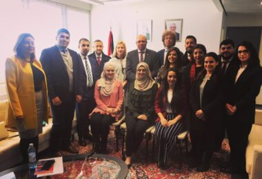 On May 6-11, 2018 ESD hosted a delegation of 12 diplomats from MFA Palestine.