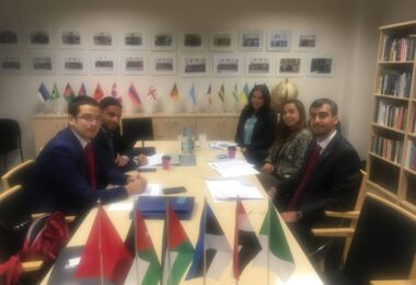 On October 6-12, 2018 ESD hosted a delegation of five diplomats from Algeria, Egypt, Jordan, Palestine and Tunisia.