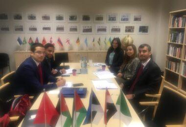 6.-12. oktoobril, 2018 võõrustas EDK mitmerahvuselist araabia diplomaatide delegatsiooni.