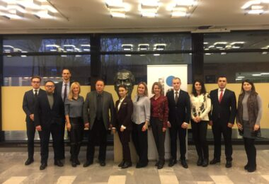 Two year long co-operation project with Diplomatic Academy of Ukraine kicked off with UA delegation's visit to Tallinn