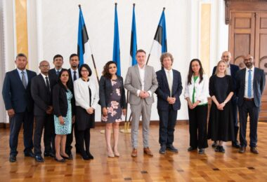 Estonian School of Diplomacy hosted a joint delegation from Mauritius and Indian Ocean Commision