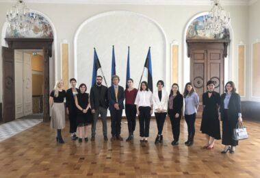 ESD hosted a study visit for junior Georgian diplomats on September 2-7, 2019