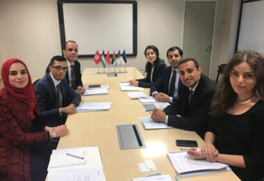ESD hosted a delegation of Arab diplomats study visit