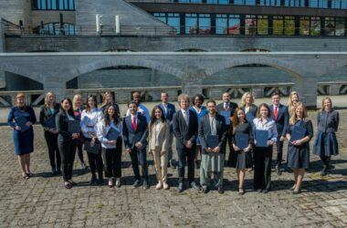 On May 22, the study group 2019/2020 ended their academic journey at Estonian School of Diplomacy
