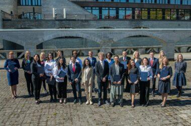 22.mail lõpetas 2019/2020 grupp oma õpingud Eesti Diplomaatide Koolis